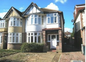 Thumbnail 4 bed semi-detached house to rent in Medway Gardens, Sudbury, Wembley