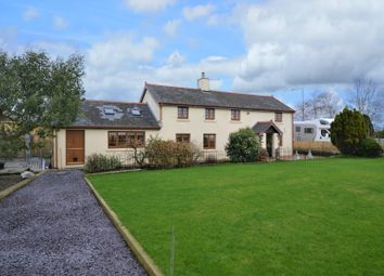 Thumbnail 3 bed detached house for sale in Farm Road, Cefn Cribwr, Bridgend