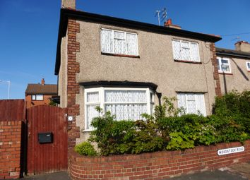 Thumbnail 3 bed end terrace house for sale in Woodstock Road, Wallasey
