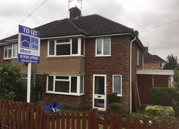 Thumbnail 3 bed detached house to rent in Lakin Road, Warwick