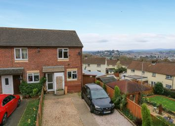 Thumbnail 2 bed end terrace house for sale in Moorlands Close, Newton Abbot