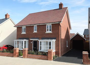 "Thumbnail 4 bedroom detached house for sale in ""Thame"" at Gold Furlong, Marston Moretaine, Bedford"