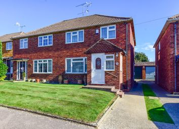 Thumbnail 3 bed semi-detached house for sale in Marvell Close, Crawley