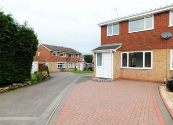 Thumbnail 3 bed semi-detached house for sale in Hollyhurst, Wildwood, Stafford