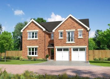 "Thumbnail 5 bed detached house for sale in ""Kingsmoor"" at Padgbury Lane, Congleton"