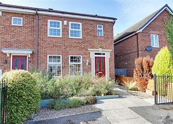 Thumbnail 3 bed end terrace house for sale in St. Matthews Close, Renishaw, Sheffield