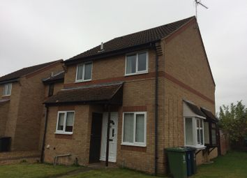 Thumbnail 1 bed end terrace house to rent in The Spinney, Bar Hill, Cambridge