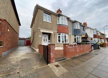 Thumbnail 4 bed semi-detached house for sale in Monckton Road, Portsmouth