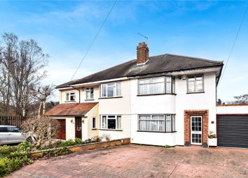 Thumbnail 3 bed semi-detached house for sale in Hartford Road, Bexley Village, Kent