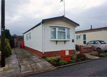 Thumbnail 2 bedroom mobile/park home for sale in Fengate Mobile Home Park, Peterborough