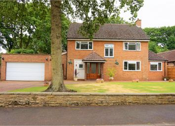 Thumbnail 4 bed detached house for sale in Birch Tree Grove, Solihull