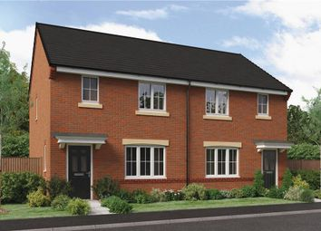 "Thumbnail 3 bed semi-detached house for sale in ""The Nevis Rk"" at Ladyburn Way, Hadston, Morpeth"
