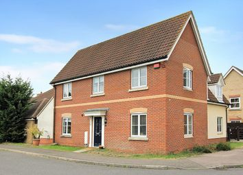 Thumbnail 4 bed detached house for sale in Pyrethrum Way, Willingham, Cambridge