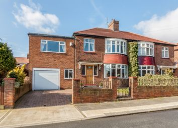 Thumbnail 4 bedroom semi-detached house for sale in Grange View, Fulwell, Sunderland