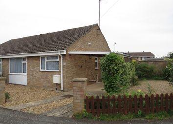 Thumbnail 2 bed semi-detached bungalow for sale in Glenside, Great Cornard, Sudbury