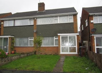 Thumbnail 3 bed property to rent in Wanderers Avenue, Wolverhampton
