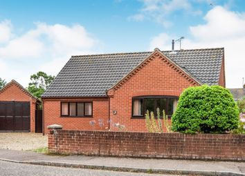 Thumbnail 3 bed detached bungalow for sale in Randell Close, North Walsham