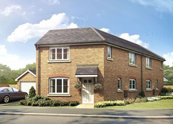 Thumbnail 1 bedroom semi-detached house for sale in The Winthorpe, Livingstone Road (Off Lyveden Way), Oakley Vale, Corby, Northamptonshire