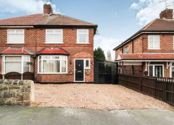 Thumbnail 3 bed semi-detached house for sale in Wollaton Road, Chaddesden, Derby
