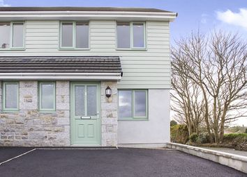 Thumbnail 2 bed semi-detached house to rent in Tolgus, Redruth