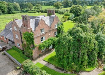 Thumbnail 7 bed detached house for sale in Stretton, Tilston, Malpas, Cheshire