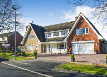 Thumbnail 4 bed detached house for sale in Parkland Close, Mansfield