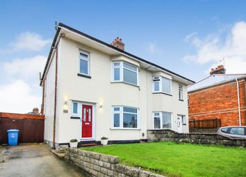 Thumbnail 3 bed semi-detached house for sale in Blandford Road, Hamworthy, Poole