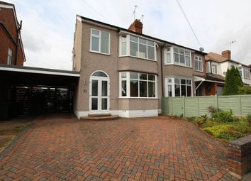 Thumbnail 4 bed semi-detached house for sale in Beanfield Avenue, Finham, Coventry