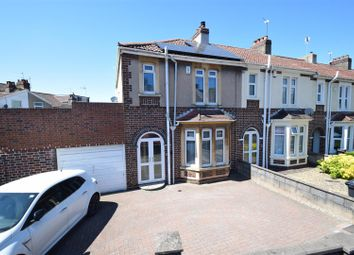 Thumbnail 3 bed end terrace house for sale in Woodside Road, St. Annes Park, Bristol