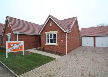 Thumbnail 3 bedroom detached bungalow for sale in Plot 102 Edgecomb Park, Farriers Road, Stowmarket