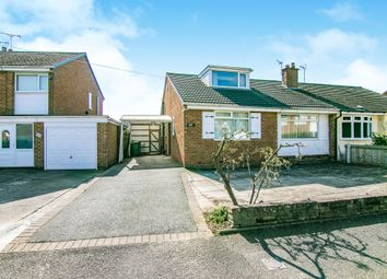 Thumbnail 2 bedroom semi-detached bungalow for sale in Somerset Road, Heswall, Wirral