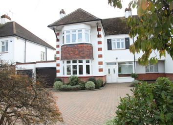 Thumbnail 4 bed semi-detached house for sale in The Fairway, Leigh-On-Sea