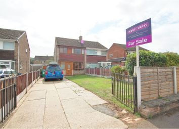 Thumbnail 3 bed semi-detached house for sale in Young Close, Hempshill Vale