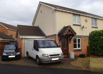 Thumbnail 2 bed semi-detached house for sale in Charlock Close, Weston-Super-Mare