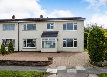 Thumbnail 4 bed semi-detached house for sale in 2 Wansfell Avenue, Carlisle, Cumbria