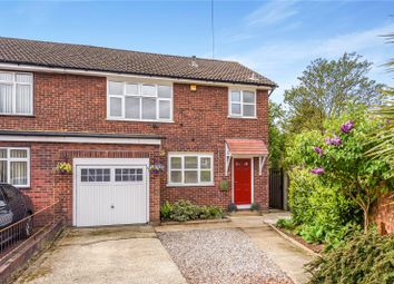 Thumbnail 3 bed semi-detached house for sale in Ecclesbourne Gardens, Palmers Green, London