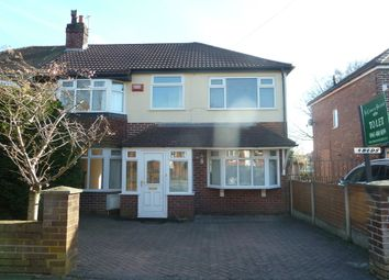 Thumbnail 4 bedroom semi-detached house to rent in Marsden Road, Romiley, Stockport