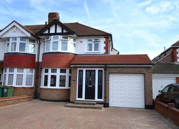 Thumbnail 4 bed semi-detached house for sale in St. Clair Drive, Worcester Park