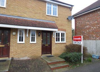 Thumbnail 2 bed semi-detached house for sale in Dandridge Court, Grange Farm, Milton Keynes