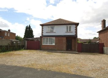 Thumbnail 3 bed detached house for sale in Cromwell Road, Sprowston, Norwich