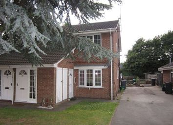 Thumbnail 2 bed flat to rent in Eland Close, Rossington, Doncaster