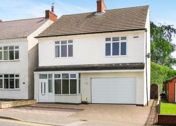 Thumbnail 4 bed detached house for sale in Swannington Road, Ravenstone
