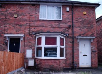 Thumbnail 1 bed maisonette to rent in Upton Road, Stechford, Birmingham