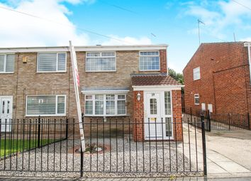 Thumbnail 3 bed semi-detached house for sale in St James Close, Sutton-On-Hull, Hull