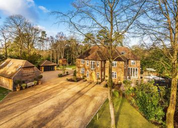Thumbnail 8 bed detached house for sale in Longdown Road, Lower Bourne, Farnham