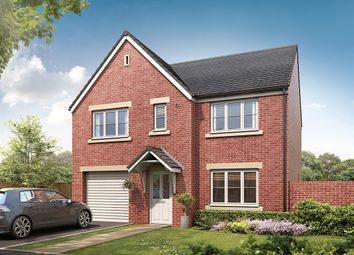 "Thumbnail 4 bed detached house for sale in ""The Belmont "" at Station Road, Hesketh Bank"