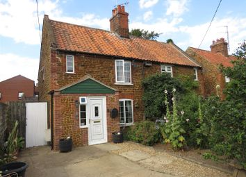 Thumbnail 3 bedroom cottage for sale in New Row, Heacham, King's Lynn