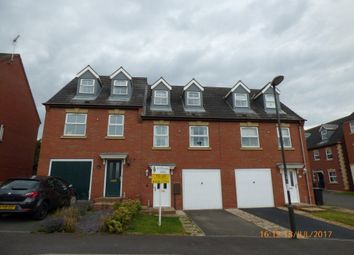 Thumbnail 3 bed terraced house to rent in Woodyard Close, Castle Gresley, Swadlincote