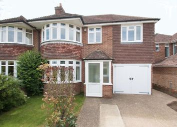 Thumbnail 4 bed semi-detached house for sale in Graydon Avenue, Chichester