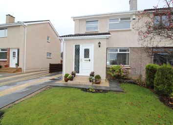 Thumbnail 3 bed semi-detached house for sale in Berwick Crescent, Airdrie